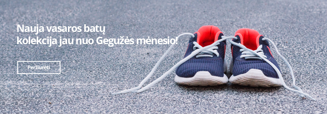Nauja vasaros batų  kolekcija jau nuo Gegužės mėnesio!
